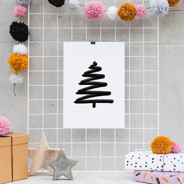 Artprint_A4_farbgold_Weihnachten_20