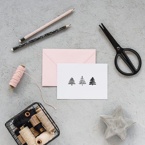 Postkarte_A6_farbgold_Weihnachten_1