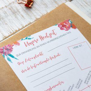 Hochzeit Gästebuch Gästebuch Hochzeit Gästebuch Hochzeit Fragekarten zum Ausfüllen