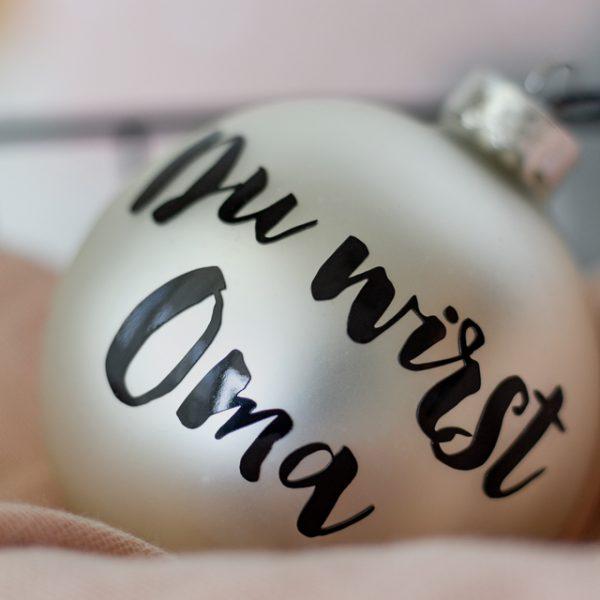 Individuelle Weihnachtskugel_Christbaumkugel_Weihnachten_Deko_farbgold_München