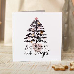 Klappkarte_Weihnachten_Grußkarte_München_farbgold