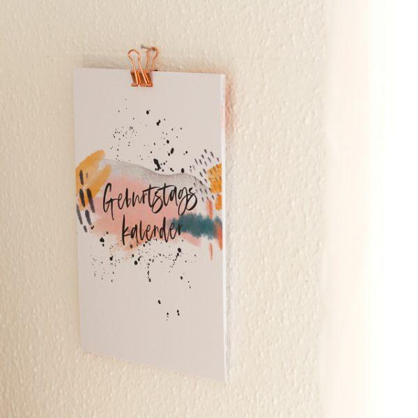 Kalender_Geburstagskalender_Geschenk 2020_Geburstag_farbgold