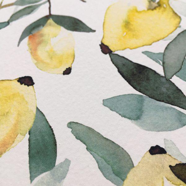mediterrane Hochzeit Italien Zitronen Design