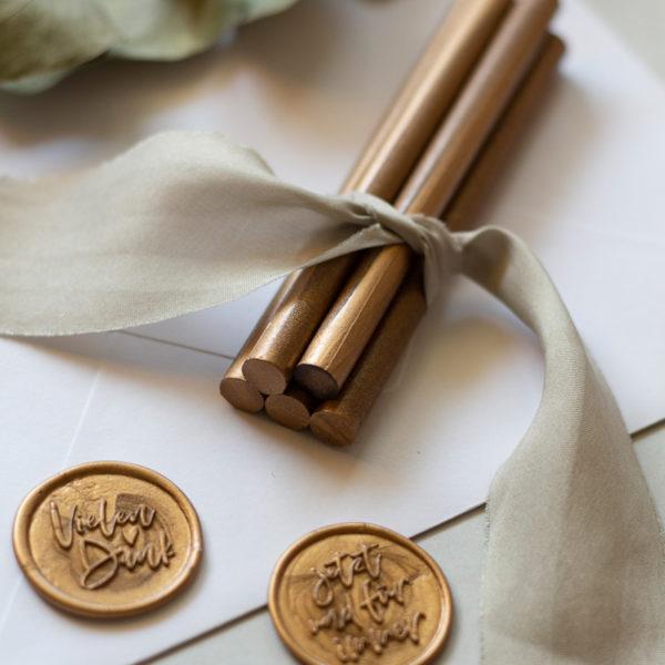 Siegelstangen Set Gold