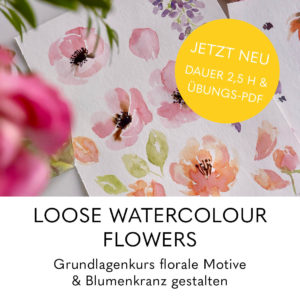 Kurse_Titel loose watercolor